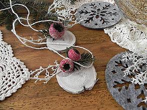 Dekorácie - Vianočná sada - mrazivé šípky:-) - 8852333_