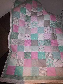 Úžitkový textil - Dievčenská deka - 8854664_