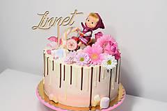 Zápich na tortu Linnet