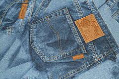 - Látka Jeans - 8854026_