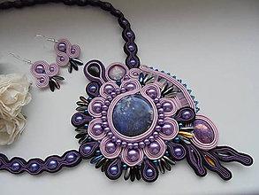 Sady šperkov - Soutache set Blanche - 8854280_