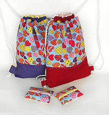 Batohy - Detský batôžtek + puzdro - 8852326_