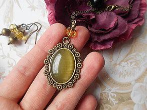 Sady šperkov - Mačacie oko II. - ZĽAVA z 5,60 eur - 8852905_