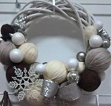 Dekorácie - Vianočný venček - 8851418_
