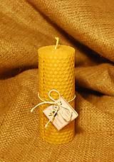 Svietidlá a sviečky - Točené sviečky valcové - 8852793_