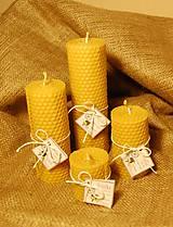 Svietidlá a sviečky - Točené sviečky valcové - 8852811_