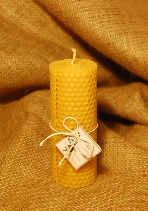 Točené sviečky valcové