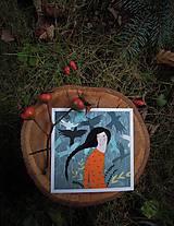 Grafika - Víla z lesa - 8853042_