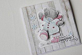 Papiernictvo - Vianočná pohľadnica - Me to you 1 - 8851986_