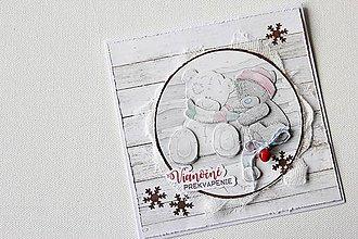 Papiernictvo - Vianočná pohľadnica - Me to you 2 - 8851995_