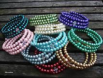 Náramky - Náramok z perličiek - vyber si - 8855091_