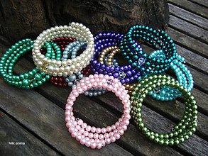 Náramky - Náramok z perličiek - vyber si (2 náramky za zvýhodnenú cenu) - 8853391_