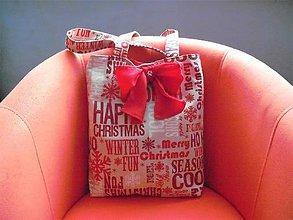 Veľké tašky - Vanora - veľká vianočná taška - 8852819_