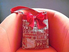Veľké tašky - Vanora II. - veľká vianočná taška - 8852938_