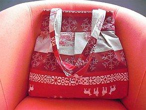 Veľké tašky - Vanora III. - veľká vianočná taška - 8852976_