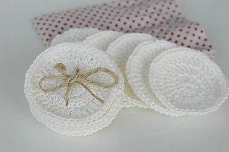 Úžitkový textil - ...v kráľovstve bielych lupienkov... - 8860575_