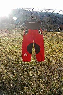 Detské oblečenie - Softshellové kalhoty vel.92 ( skladem ) - 8860370_