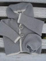 Detské oblečenie - Sveter a čiapka mimi - 8858382_