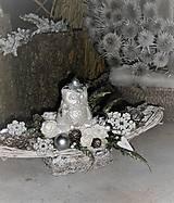 Vianočná dekorácia so sovičkou