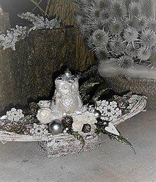 Dekorácie - Vianočná dekorácia so sovičkou - 8856288_