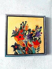 """Obrazy - """"... z malej rajskej záhrady"""" - 8857093_"""