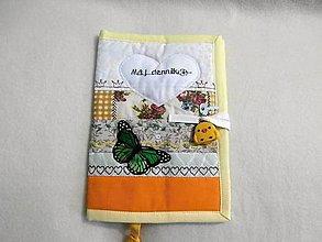 Hračky - obal na zápisník - môj denník 1 - 8859244_