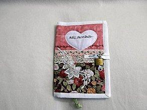 Hračky - obal na zápisník - môj denník 8 - 8859466_