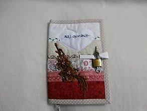 Hračky - obal na zápisník - môj denník 9 - 8859498_