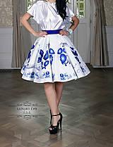 Sukne - suknička FOLK - 8859129_