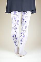 Nohavice - Modré lúčne kvietky - 8860461_