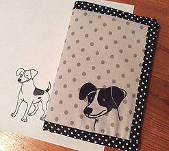 Papiernictvo - obal na preukaz pre psíka - 8858024_