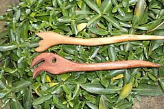 Ozdoby do vlasov - sada ihlíc z dreva jelše - 8859418_