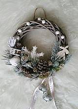 Dekorácie - Vianočný veniec s rolničkami - 8856539_