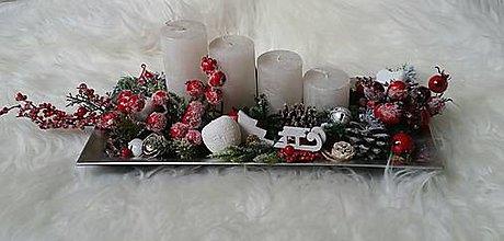 Dekorácie - Vianočná zamrznutá dekorácia - 8856653_