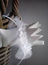 Čelenka s trblietavou korunkou (Maxi- biela)