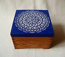 Krabičky - Drevená krabička \