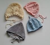 Detské čiapky - Čepčeky - 8862273_