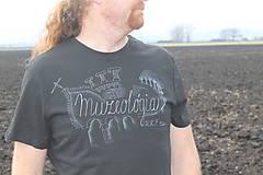Oblečenie - Ručne maľované triko s motívom na želanie - 8859157_