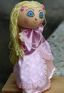 Hračky - Maňuška. Bábika princezná Jasnenka. - 8860482_