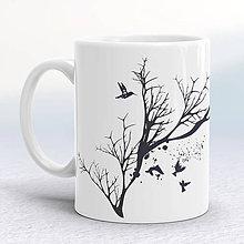 Nádoby - Šálka so stromom - 8856261_