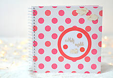 Papiernictvo - Detský fotoalbum - pre dievčatko - 8862206_