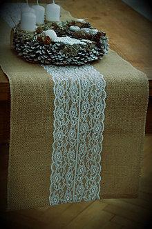 Úžitkový textil - Štóla jutová - 8860684_