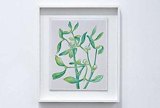 Kresby - Imelo - kresba akvarelovými ceruzkami - 8861439_