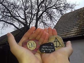 Dekorácie - Harry Potter - Na kameni maľované - 8856228_