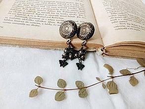 Náušnice - Zo šperkovnice starej mamy - 8861771_