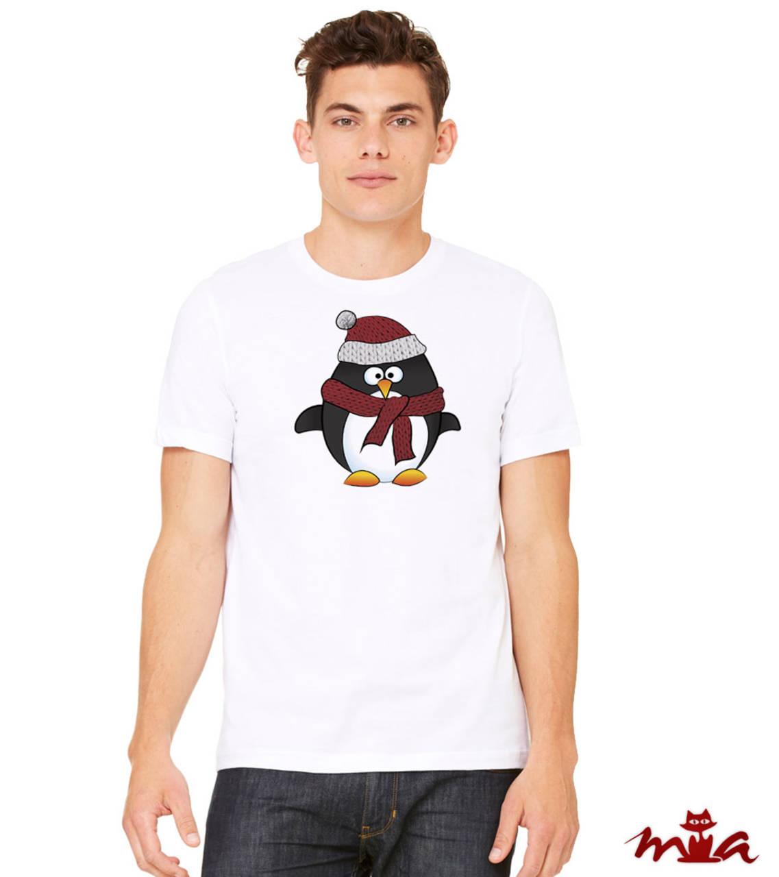 dbe5b918582 Pánske tričko - Penguin (rodinné oblečenie) (krátkorukávové ...