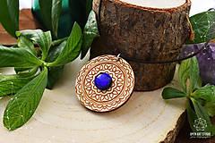 Náhrdelníky - Zen - náhrdelník intuície & kreativity (indigo) - 8857943_