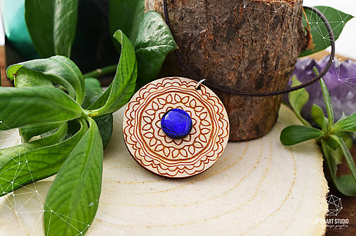 Zen - náhrdelník intuície & kreativity (indigo)