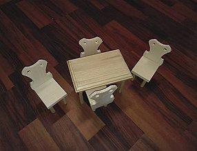 Hračky - Nábytok pre Bábiku - 8859960_