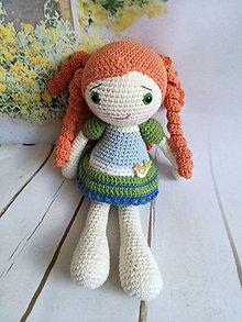 Hračky - ryšava bábika - 8865961_